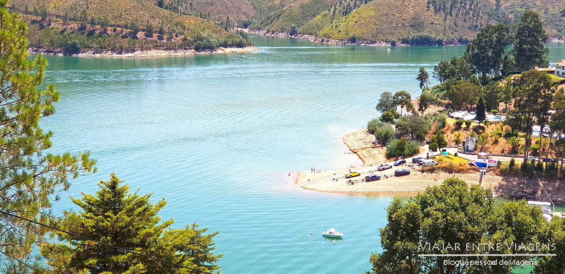 praia fluvial da Castanheira