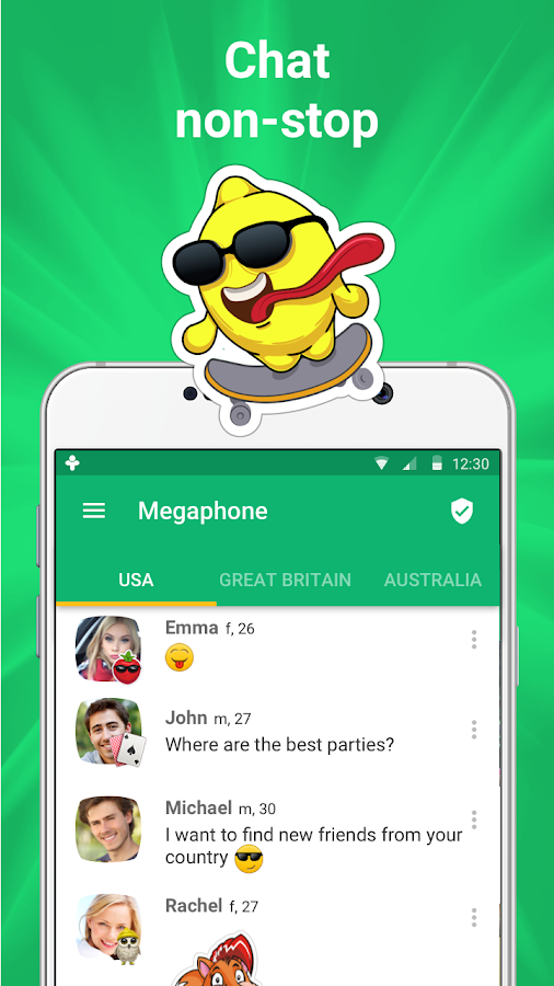 Frim: get new friends on local chat rooms- screenshot
