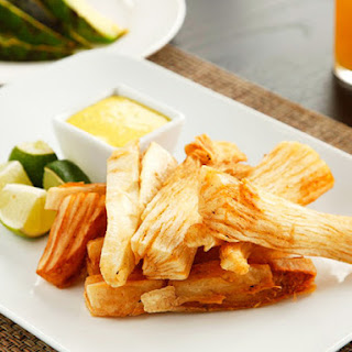 Fried Yuca with Spicy Mayo.