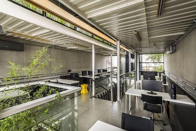 Desain Kantor Kontainer - Rodrigo Kirck Arquitetura-3