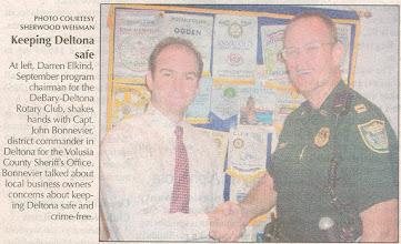 Photo: Darren with Captain John Bonnevier - September 18-20, 2006