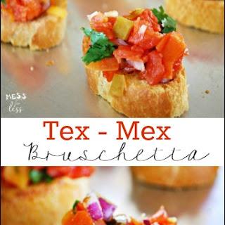 Tex-Mex Bruschetta