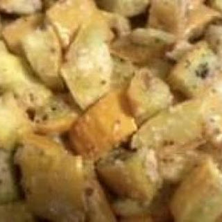 Roasted Garlic~Parmesan Summer Squash