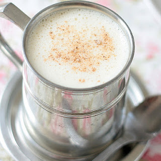 Sneak peek! Homemade Eggnog