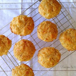 Gluten Free Cheddar Drop Biscuits.