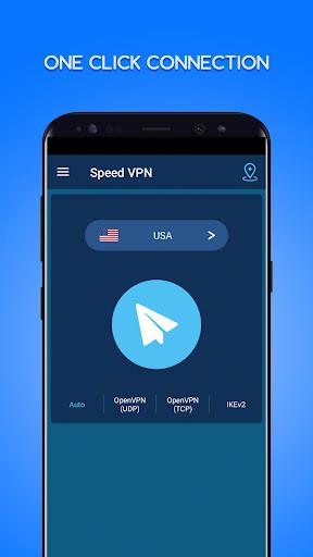 Speed VPN-Fast, Secure, Free Unlimited Proxy screenshot 1