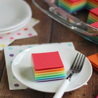 Layered Ribbon Jell-O Salad