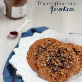 Pecan Pie Lace Cookies with Raspberry Filling