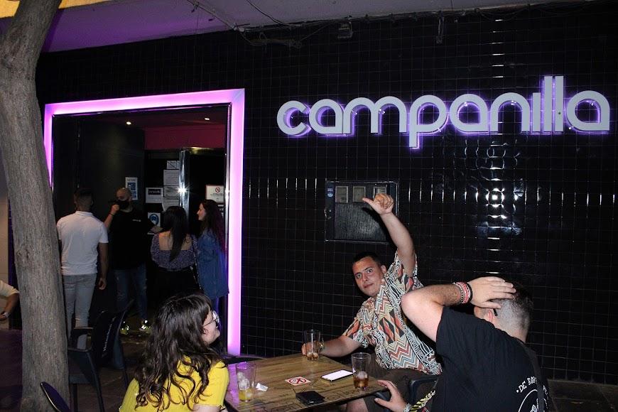En Campanilla, la primera noche tras concluir el estado de alarma.