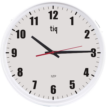 Väggklocka NTP/POE 34,8 cm