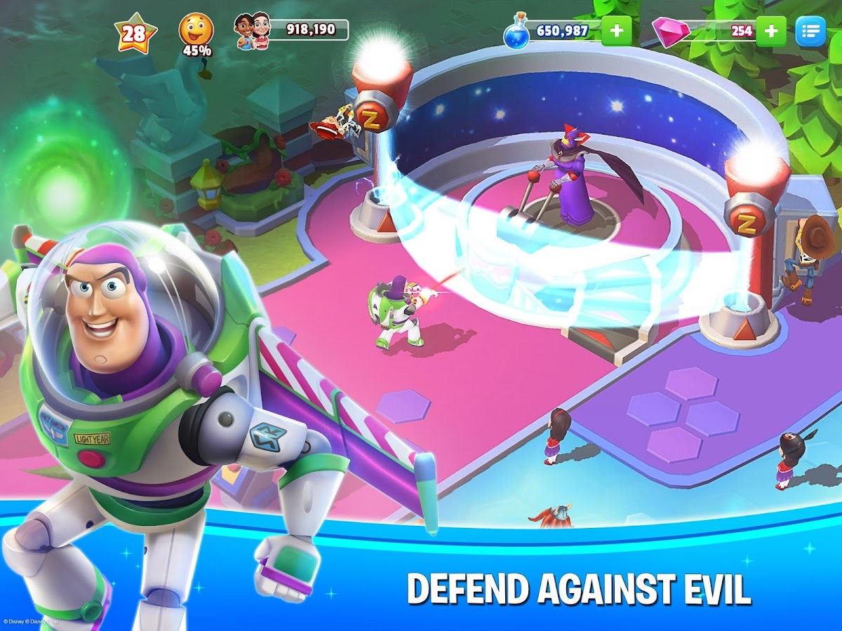 Disney Magic Kingdoms: Build Your Own Magical Park- screenshot