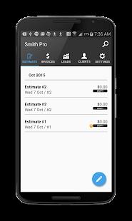 Smith Pro: Invoice & Estimates - náhled