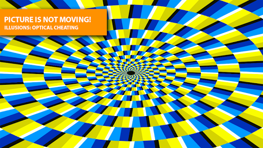 Illusions: optical cheating
