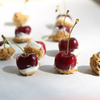 Cherry Cheesecake Bites Recipe