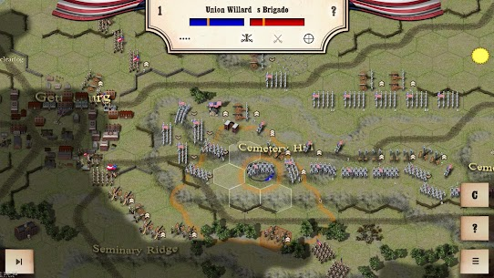 Civil War: Gettysburg Mod Apk Download For ANdroid and Iphone 6