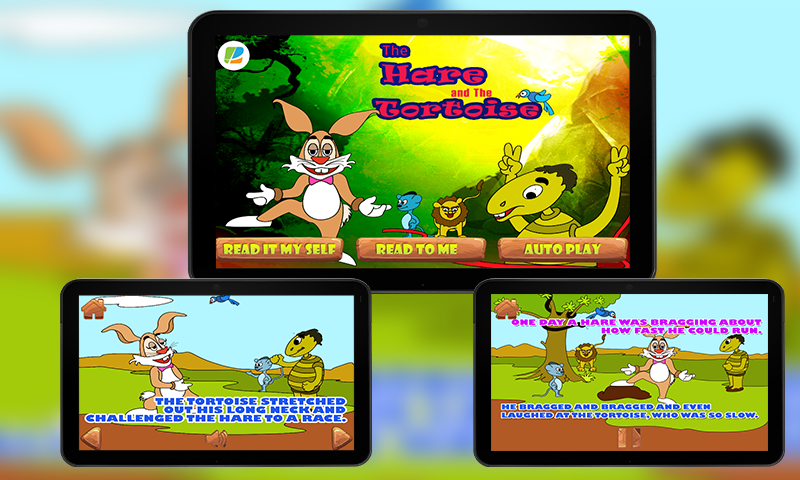 Hare and Tortoise KidsStorypro- screenshot