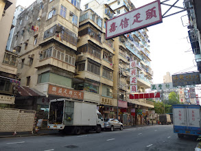 Photo: 花布區The fabric district in Kowloon