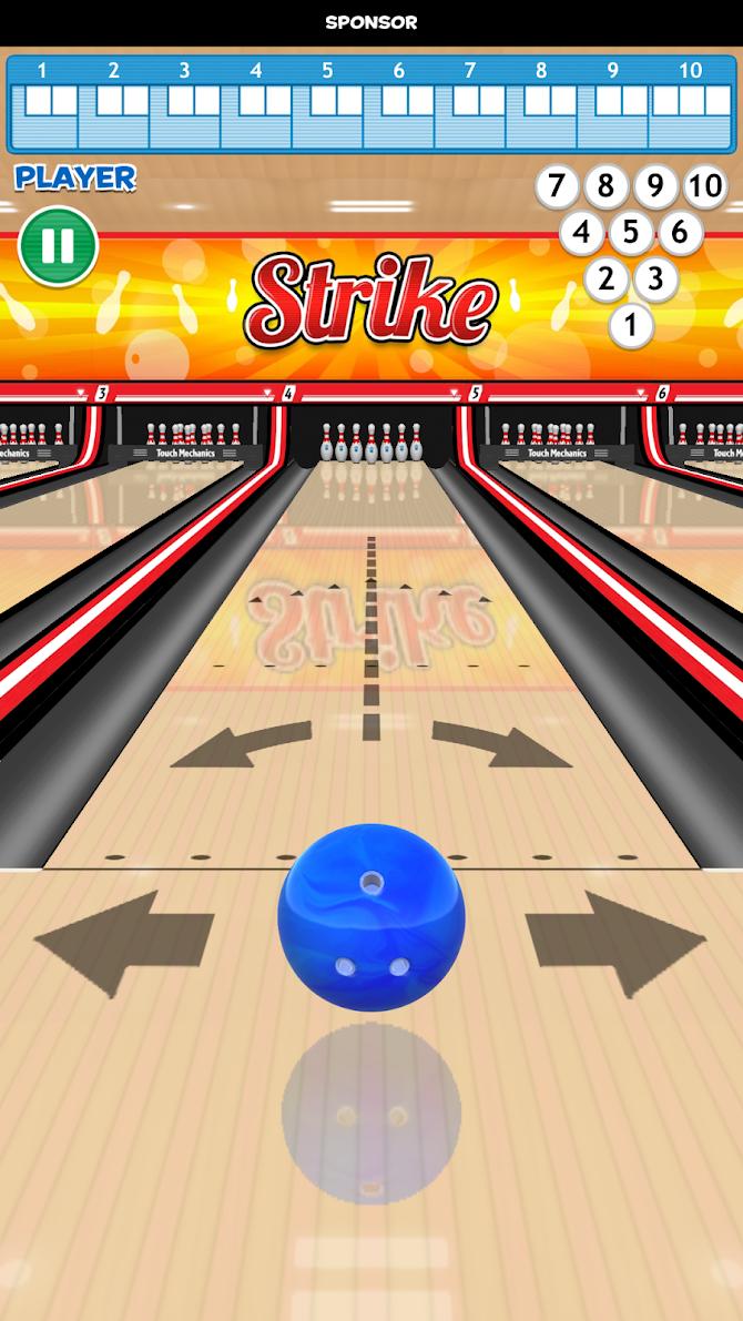 Strike! Ten Pin Bowling Android 1