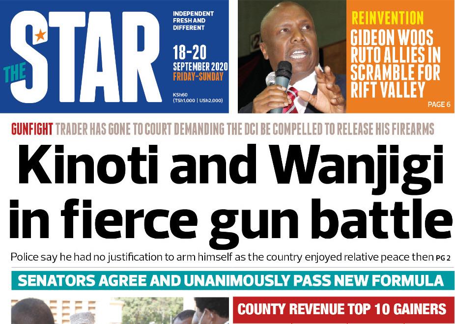 The News Brief: Why DCI will not return Wanjigi's guns