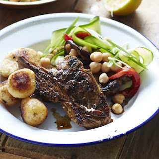 Spiced Lamb Chops with Potatoes