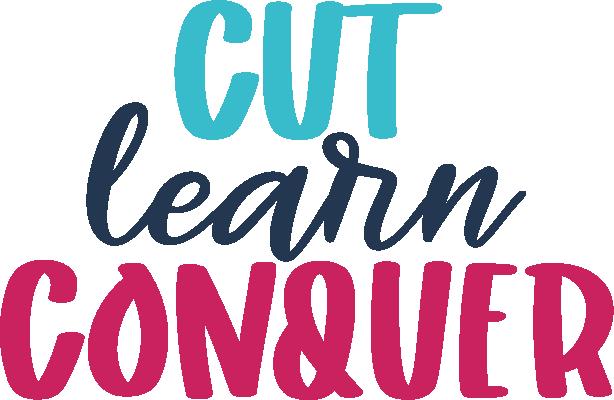 Cut learn Conquer, Cricut Design Space course
