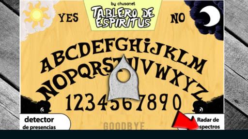 Guija Board Table Contact Espiritus Paranormal 1.0.3.0 screenshots 1
