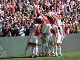 Ajax won met 2-1 van Feyenoord