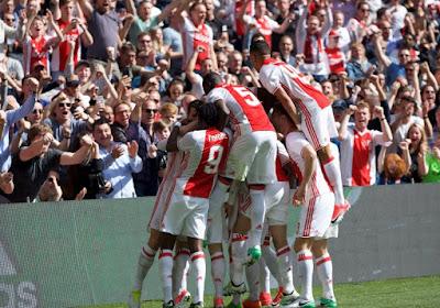 Ajax veegt de vloer aan met Wout Faes en co en blijft zo in het spoor van leider Feyenoord