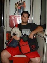 Photo: Regresando a la casa despues de llevar a Niko al parque canino.
