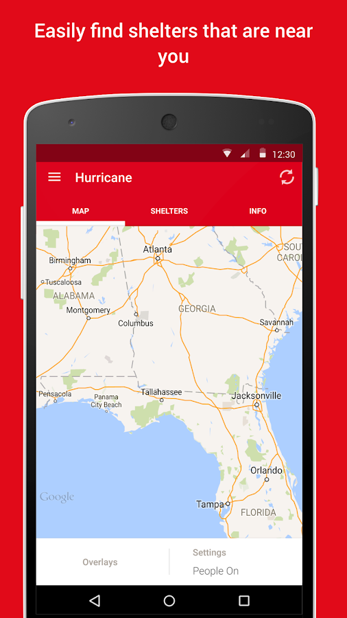 Hurricane - American Red Cross- screenshot