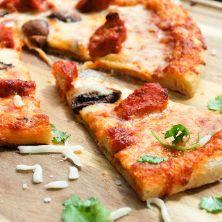 Chicken Tikka Pizza.