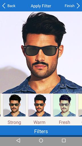 Men Mustache Beard Haircuts  screenshots 6