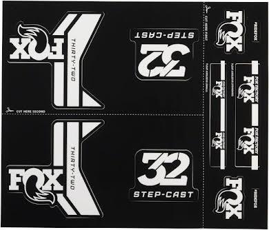Fox Decal Kit for 32 Step-Cast Forks alternate image 1