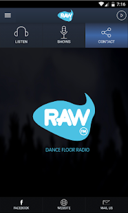 Raw FM Dance Floor Radio- screenshot thumbnail