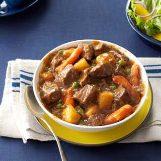Slow Cooker Beef Vegetable Stew