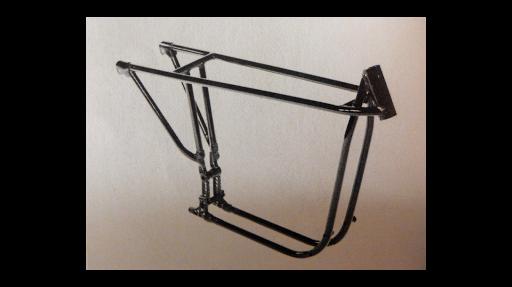 Prototype des cadre KR et XR de piste.