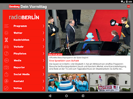 Screenshot of radioBerlin 88,8