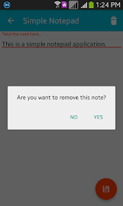Simple Notepad screenshot 4