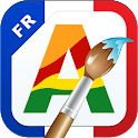 French ABC Coloring Book icon