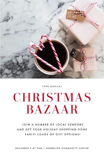 Christmas Bazaar - Christmas template