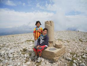 Photo: La Dana (C/F) i l'Aidin (LL/D) a la Tossa Pelada (2.370m)