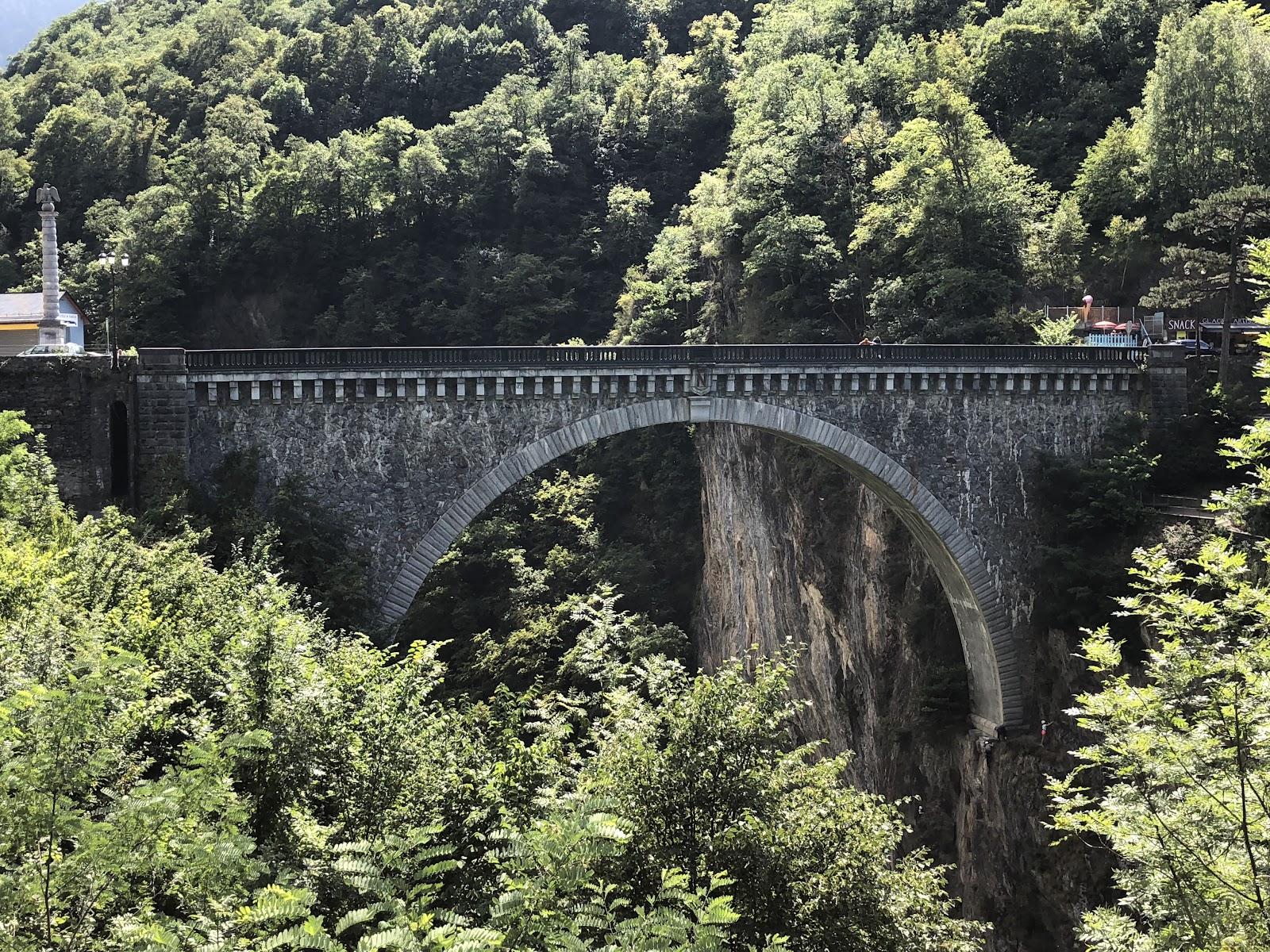 Cycling Tourmalet - Pont Napoléon Saut à l'élastique