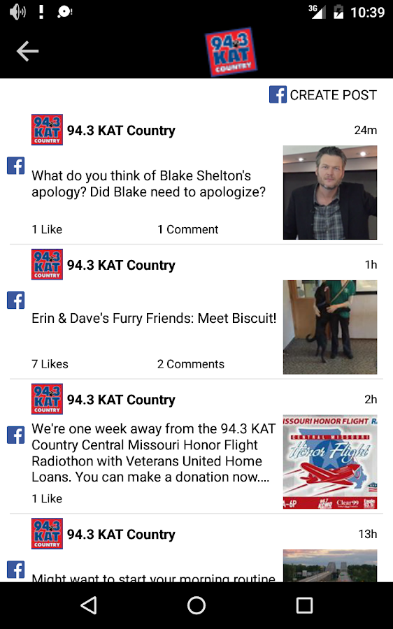 94.3 KAT Country- screenshot