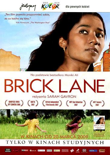 Przód ulotki filmu 'Brick Lane'