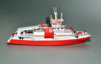 Photo: FDNY Fireboat Three Forty Three STBD Profile
