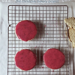 Pomegranate & Black Pepper Sugar Cookie Icing