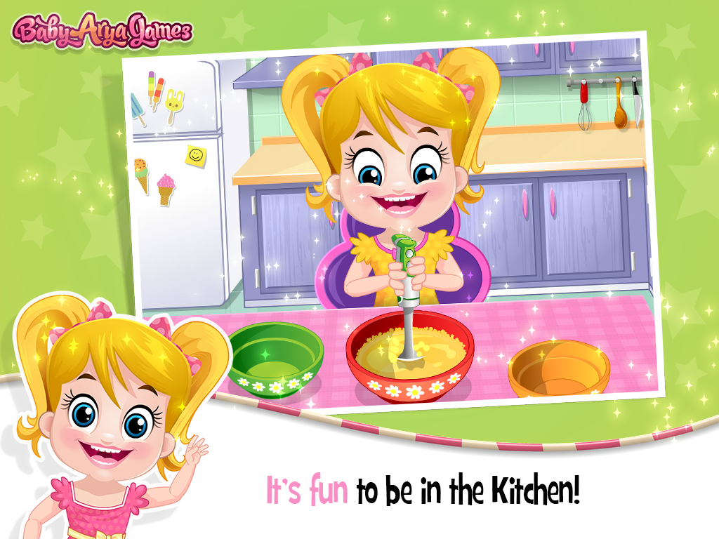 Baby Arya in Kitchen- screenshot