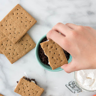 No Cook S'Mores Treats {gluten-free} with Homemade Organic Marshmallow Fluff.
