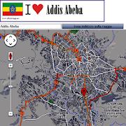 Addis Ababa map
