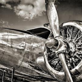 Old School by DE Grabenstein - Transportation Airplanes